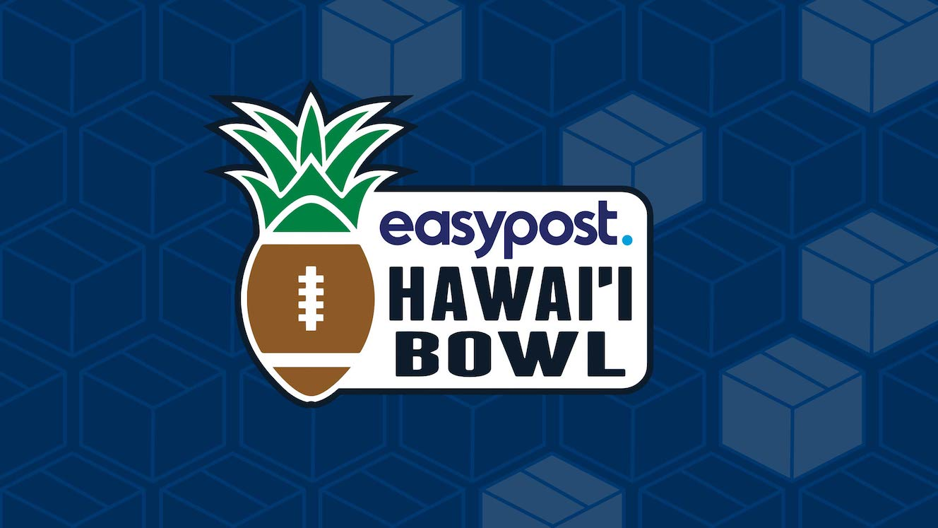 EasyPost Hawaii Bowl logo