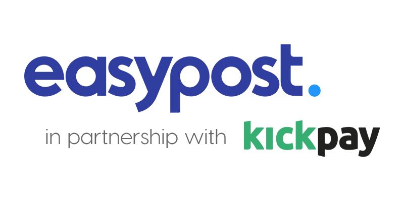 EasyPost + Kickpay