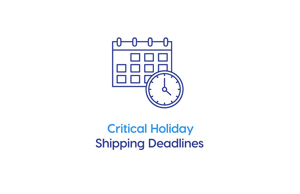 Critical Holiday Shipping Deadlines