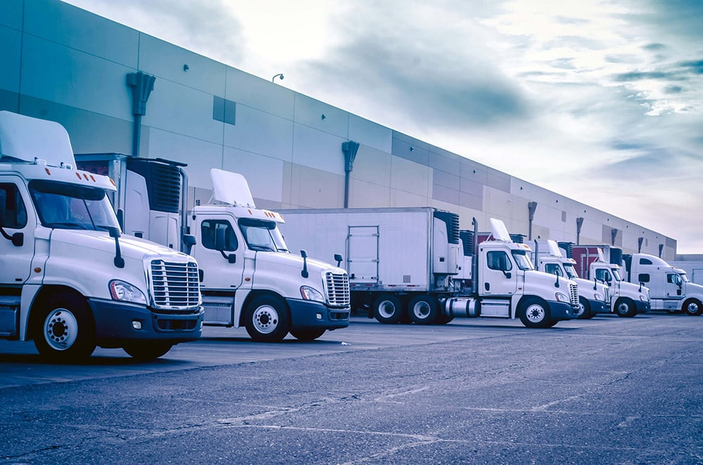 EasyPost Freight Shipping Trucks