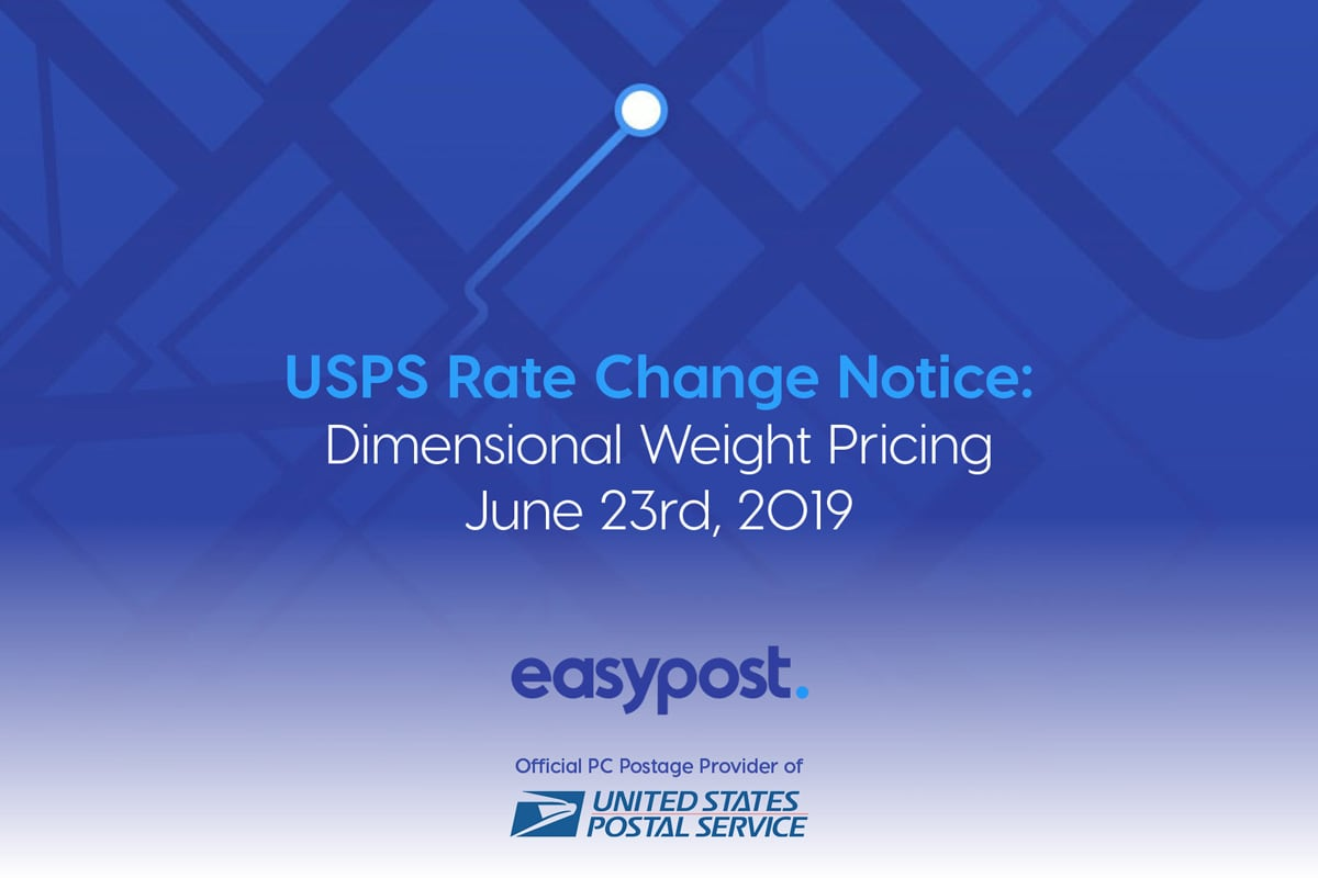 USPS Rate Changes