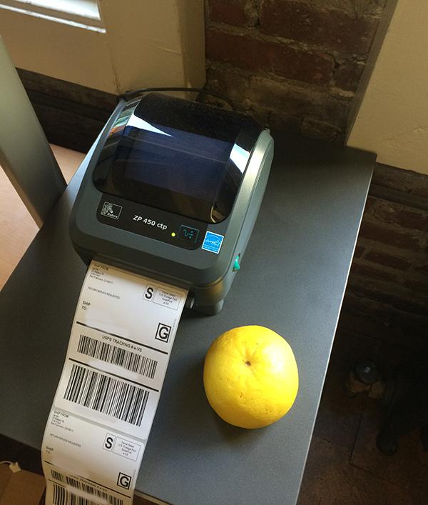 Yerdle Zebra printer