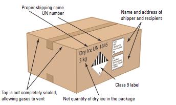 FedEx Dry Ice Box
